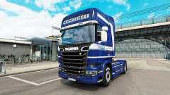 Mainfreight skin for Scania truck for Euro Truck Simulator 2