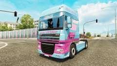 Jan Tromp skin for tractor DAF XF 105.510 for Euro Truck Simulator 2