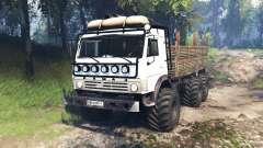 KamAZ-43114 v4.0 for Spin Tires