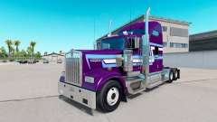 Skin Icon Style on the truck Kenworth W900 for American Truck Simulator