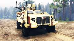 Oshkosh JLTV for Spin Tires