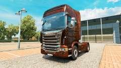 Ferrugem skin v2.0 truck Scania for Euro Truck Simulator 2