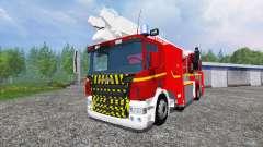 Scania P420 BEA [sapeurs-pompiers] for Farming Simulator 2015