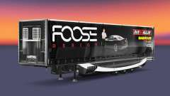 Skin FOOSE on the trailer for Euro Truck Simulator 2