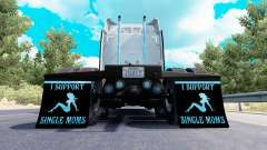 Mudguards I Support Single Moms v1.7 for American Truck Simulator