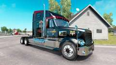 Skin Guns N Roses on the truck Freightliner Coronado for American Truck Simulator