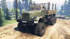 KrAZ-214 v2.0 for Spin Tires