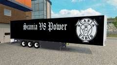 Semi-Trailer Schmitz Cargobull Scania V8 for Euro Truck Simulator 2