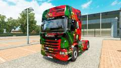 Skin Portugal Copa 2014 for Scania truck for Euro Truck Simulator 2