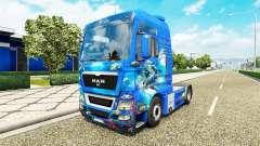 Ocean skin for MAN truck for Euro Truck Simulator 2
