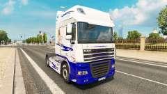 American Dream skin for DAF truck for Euro Truck Simulator 2
