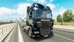 Relentless skin for DAF truck for Euro Truck Simulator 2