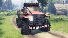 Ural-4320 Polar Explorer v12.0 for Spin Tires