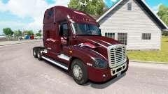 Skin Millis on tractor Freightliner Cascadia for American Truck Simulator