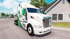 Skin DFS Danfreiht on tractor Peterbilt 387 for American Truck Simulator