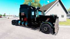Pride Transport skin for the truck Peterbilt 389 for American Truck Simulator