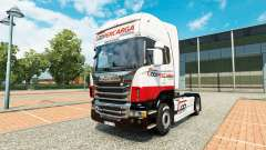 Coopercarga Logistica skin for Scania truck for Euro Truck Simulator 2