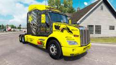Rockstar Energy skin for the truck Peterbilt for American Truck Simulator