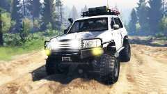 Toyota Land Cruiser 100 2000 [Samuray] v3.0 for Spin Tires