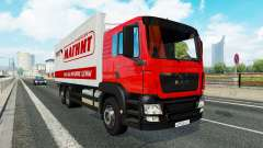 A collection of truck transportation to traffic v1.2.1 for Euro Truck Simulator 2