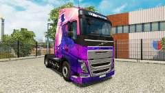 Michael Jackson skin for Volvo truck for Euro Truck Simulator 2