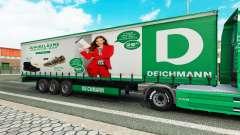 Deichmann skin for trailers for Euro Truck Simulator 2