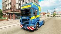Wittwer skin for Scania truck for Euro Truck Simulator 2