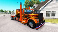 Skin USA Texas for the truck Peterbilt 389 for American Truck Simulator