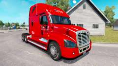 Skin on Knight truck Freightliner Cascadia for American Truck Simulator
