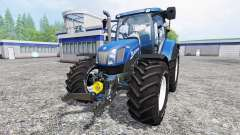 New Holland T6.160 [blue power] v1.1 for Farming Simulator 2015