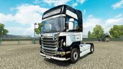 JKT International skin for Scania truck for Euro Truck Simulator 2