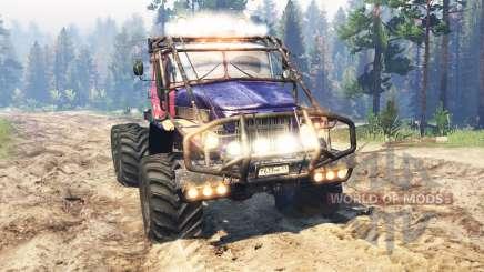 Ural-375 Trial v2.0 for Spin Tires