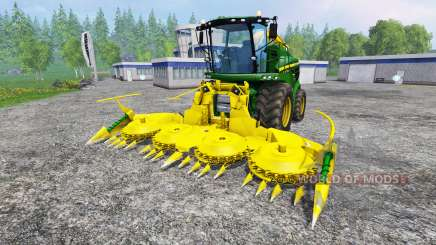John Deere 8400i v1.1 for Farming Simulator 2015