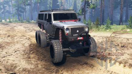 Jeep Wrangler 6x6 [crawler] for Spin Tires