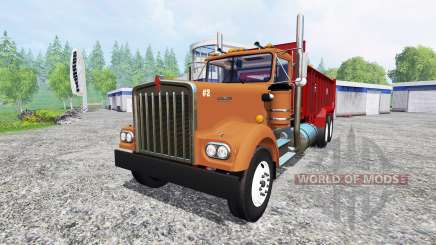 Kenworth W900 for Farming Simulator 2015