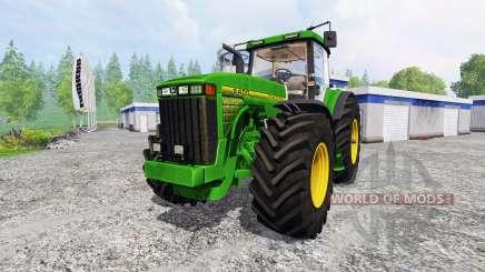 John Deere 8400 v4.0 for Farming Simulator 2015