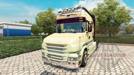 Scania T Longline [Free As A Bird] for Euro Truck Simulator 2