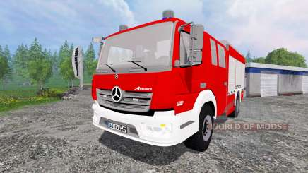 Mercedes-Benz Atego 1530 [firefighters] for Farming Simulator 2015