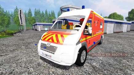 Peugeot Boxer [VSAV] for Farming Simulator 2015