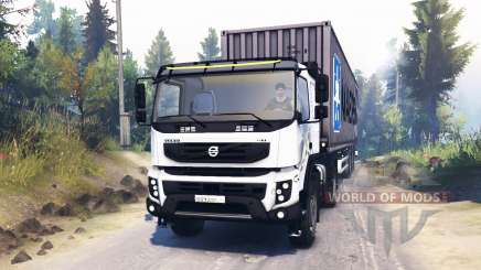 Volvo FMX 400 for Spin Tires