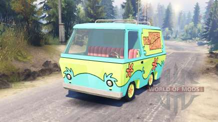 The Mystery Machine [Scooby-Doo] for Spin Tires