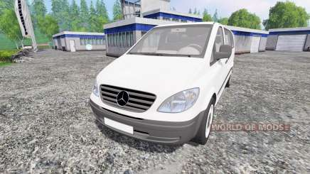 Mercedes-Benz Viano 2005 for Farming Simulator 2015