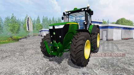 John Deere 7310R v4.0 for Farming Simulator 2015
