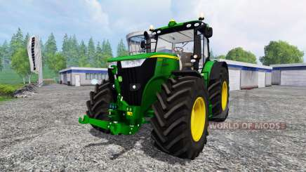 John Deere 7310R [wheel shader] v2.0 for Farming Simulator 2015