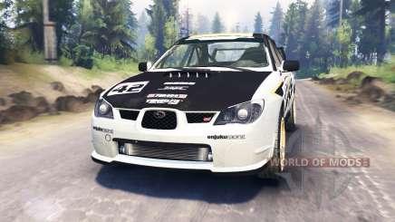 Subaru Impreza STi 2007 for Spin Tires