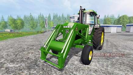 John Deere 4455 v2.2 for Farming Simulator 2015