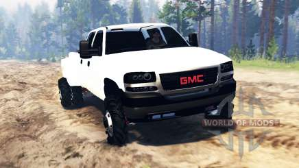 GMC Sierra 3500 Crew Cab 2001 for Spin Tires