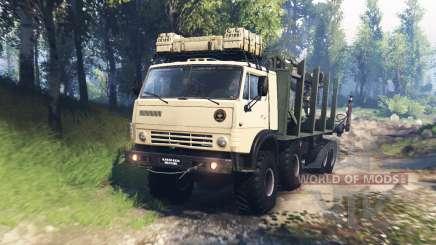 KamAZ-63501-996 Mustang v3.0 for Spin Tires