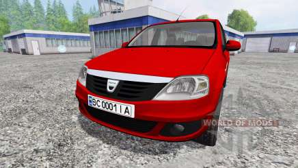 Dacia Logan v1.2 for Farming Simulator 2015