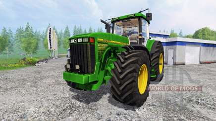 John Deere 8400 [wheelshader] for Farming Simulator 2015